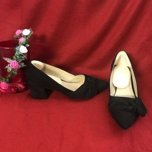 Jessica Simpson Pointed Toe Black Shoes